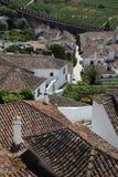 Vista del tetto di Obidos Immagini Stock Libere da Diritti