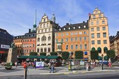 Vista del traforo, Stoccolma Fotografie Stock