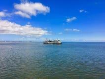 Vista del traghetto immagine stock