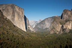 Vista del tunnel, parco nazionale di Yosemite Immagini Stock