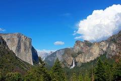 Vista del tunnel, Yosemite, parco nazionale di Yosemite Fotografie Stock Libere da Diritti
