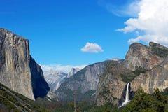 Vista del tunnel, Yosemite, parco nazionale di Yosemite Fotografia Stock