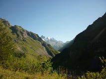 Vista del valle Foto de archivo libre de regalías