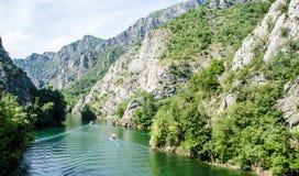 Vista del valle Imagenes de archivo