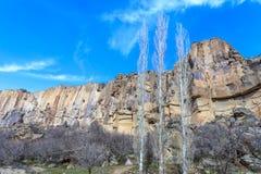 Vista del valle de Ihlara Imágenes de archivo libres de regalías