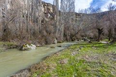 Vista del valle de Ihlara Turquía Foto de archivo