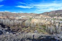 Vista del valle de Ihlara Turquía Fotos de archivo libres de regalías