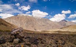 Vista del valle de Leh Imagen de archivo