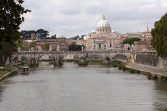 Vista del Vaticano immagini stock