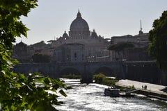 Vista del Vaticano fotografia stock