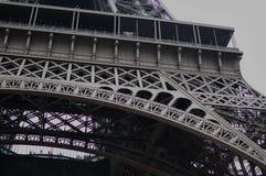 Vista del viaje Eiffel, París, Francia imágenes de archivo libres de regalías