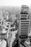 Vista del viale di joao del sao a Sao Paulo Immagine Stock Libera da Diritti