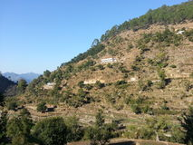 Vista del villaggio fotografie stock libere da diritti