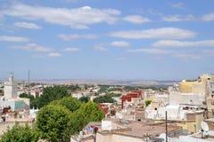Vista del villaggio di berbero Immagini Stock Libere da Diritti