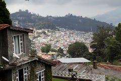 Vista del villaggio di Kodaikanal Immagini Stock