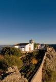 Vista del villaggio di Marvao Fotografie Stock Libere da Diritti