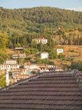 Vista del villaggio turco di Sirince Fotografia Stock Libera da Diritti