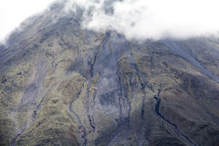 Vista del vulcano di Arenal in Costa Rica Immagine Stock