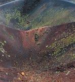 Vista del vulcano di Etna, Sicilia, Italia Fotografia Stock