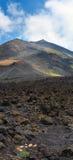 Vista del vulcano di Etna, Sicilia, Italia Immagini Stock Libere da Diritti
