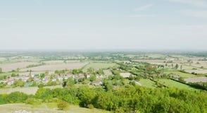 Vista del Weald foto de archivo