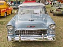 Vista delantera 1955 de Chevy Bel Air Fotografía de archivo libre de regalías