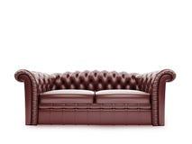 Vista delantera aislada muebles reales stock de ilustración