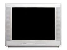 Vista delantera de la TV Imagenes de archivo