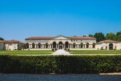 Vista delantera de Palazzo Te, Mantua fotografía de archivo libre de regalías