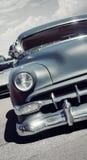 Vista delantera de un coche americano clásico Fotografía de archivo libre de regalías