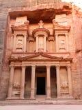 Vista delantera del Hacienda hermoso del Petra Foto de archivo libre de regalías
