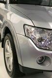 Vista delantera del nuevo coche Imagenes de archivo