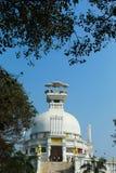 Vista delantera del templo del dhauli foto de archivo