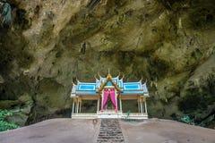 Vista delantera del trono de Khuha Kharuehat en el montón en lugar hueco imagen de archivo libre de regalías