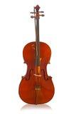 Vista delantera del violín Imagen de archivo