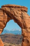 Vista delicata dell'arco, arché N P Fotografia Stock Libera da Diritti