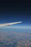 Vista dell'aeroplano Immagine Stock