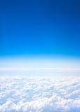 Vista dell'aeroplano Fotografia Stock