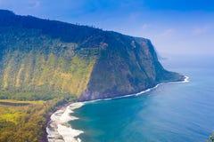 Vista dell'affioramento e dell'oceano Fotografia Stock Libera da Diritti