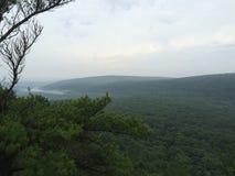 Vista dell'allerta nel lago Wisconsin devils Fotografie Stock