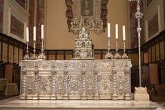 Vista dell'altare della conduttura del maggiore del altare Fotografia Stock Libera da Diritti