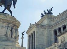Vista dell'altare della patria a Roma Fotografia Stock