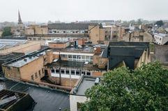 Vista dell'angolo alto di Oxford Immagine Stock Libera da Diritti