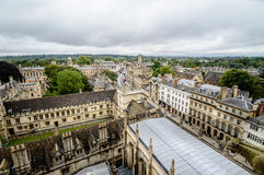 Vista dell'angolo alto di Oxford Fotografia Stock