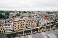 Vista dell'angolo alto di Oxford Immagini Stock