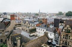 Vista dell'angolo alto di una città europea Fotografie Stock Libere da Diritti
