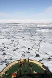 Vista dell'Antartide Immagini Stock Libere da Diritti
