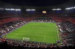 Vista dell'arena di Donbass dello stadio Fotografia Stock