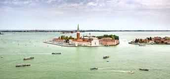 Vista dell'aria di Venecia Fotografia Stock Libera da Diritti
