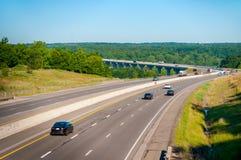 Vista dell'autostrada Immagine Stock